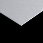 ANODIZED ALUMINIUM SHEET 1MM BRUSHED SILVER (1mm x 4feet x 8feet)