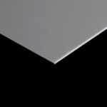 ANODIZED ALUMINIUM SHEET SATIN SILVER MATTE 2MM (2mm x 4feet x 8feet)
